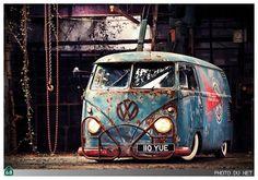 Mooie vintage #Volkswagen #T1 bus.