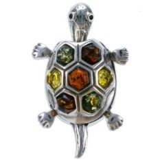 Have to pin this. This turtle is made with ME! Amber stones :]