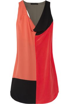 Colorblock Dress by Alexander WAng #Dress #Alexander_Wang