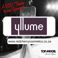 Thanks to Yllume -South Africa for your sponsorship! We appreciate your support!  Visit them on www.redcherrycosmetics.co.za #TMSA17 #TMSASponsor