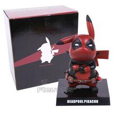 Deadpool Pikachu - Pokemon PVC Figure Collectible Toy