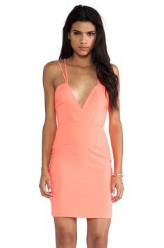AQ/AQ Yarra Mini Dress in Pink Grapefruit from REVOLVEclothing