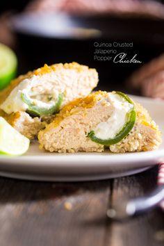 Quinoa Crusted Jalap