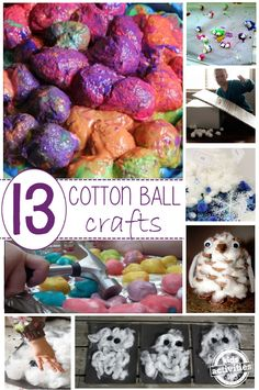 13 Crazy Cotton Ball Crafts and Activities for Kids - Kids Activities Blog