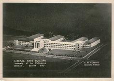 Liberal Arts Building - University of the Philippines - Cesar Concio