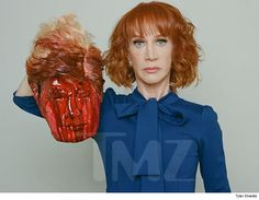 Kathy Griffin Beheads Donald Trump in Shocking Photo Shoot | TMZ.com