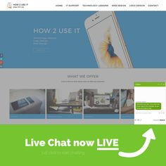 Oh yes...we now have #LiveChat on our #website! Give us a #click, start to #chat and see how it works  right here -> www.how2useit.co.uk