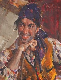Nikolai Fechin Portrait of Antonio Triana. MacDougall's Fine Art Auctions
