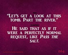 quotes from kane chronicles | READ IT NOW OR ELSE!: Tribute to Rick Riordan