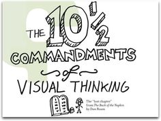 Visualizations | The 10½ Commandments of Visual Thinking