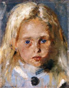 Young Blond Girl ~ Edvard Munch