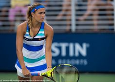 Monica Puig Ellesse dress US Open 2017 - Women's Tennis Blog Monica Puig, Tennis Dress, Tennis Clothes, Haute Couture Designers, Tennis Fashion, Tennis Stars, Ellesse, Serena Williams, Tennis Players
