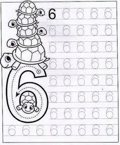 New System-Suitable Numbers Line Study - Preschool Children Akctivitiys Numbers Preschool, Preschool Writing, Math Numbers, Preschool Printables, Preschool Lessons, Preschool Learning, Kindergarten Worksheets, Preschool Activities, Dot To Dot Printables