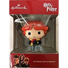 2016 Hallmark Ron Weasley Ornament: Ron Weasley of the movies Harry Potter. This christmas ornament will be a great addition to any Potter fans tree. Harry Potter Christmas Ornaments, Christmas Ornament Sets, Christmas Decorations, Harry Potter 2016, Harry Potter Collection, Hallmark Keepsake Ornaments, Ron Weasley, Fans, Amazon