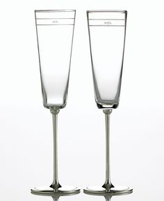 kate spade new york Darling Point Champagne Flutes, Set of 2 - Collections - for the home - Macys