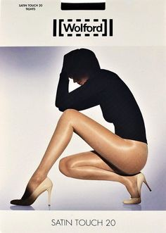 Wolford Satin Touch STW Tights Pantyhose