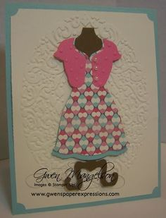 March Card Club Projects - Paper Expressions Rubber Stamping & Video Tutorials