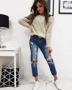 Dámsky sveter SELENA v módnom prevedení - Oblečiemsa. Skinny Jeans, Pants, Fashion, Skinny Fit Jeans, Moda, Trousers, Women Pants, Fasion, Women's Pants