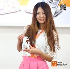 Custom self-photos for mobile skin.Input personal photos(1/2)-Daqin Mobile Prink | Supply Custom Mobile Skin Design System