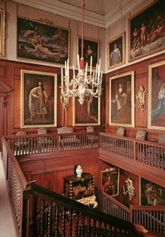 Photograph of paintings in Drumlanrig Castle Dumfries and Galloway, Scotland.