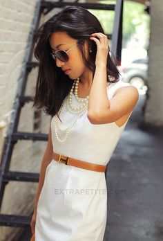 love the Hermes belt and pearls