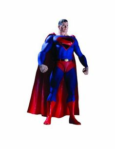 Justice Society of America: Series 2: Kingdom Come Superman Action Figure by Diamond Comic Distributors. $34.99. An original sculpt of the Superman of Kingdom Come continuity. Figure comes in 4-color window box packaging. Multiple points of articulation. Figure includes a base. Inspired by the art of Alex Ross. From the Manufacturer                Four second-generation Justice Society of America heroes are grouped together to make up the second series of action figures based o...