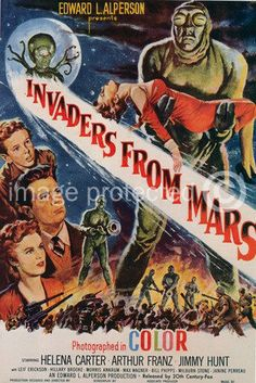 Vintage-Sci-Fi-Movie-Poster-Invaders-From-Mars-18x24