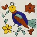 Mexican Tile   - Handpainted Decorative Ceramic Tile - Animals