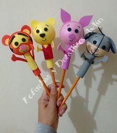 Fofulapices Pooh y sus amigos