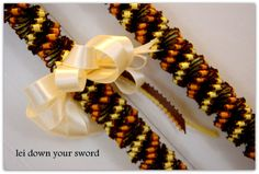 Handstitched Cigar Pua Kika Ribbon Lei by TheLeiStand on Etsy, #SFEtsyHoliday2012