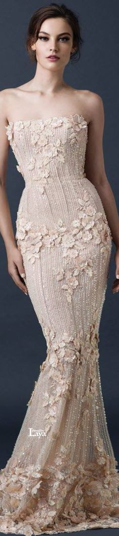 Breathtaking Look of Paolo Sebastian Fall Winter Couture 2014-2015