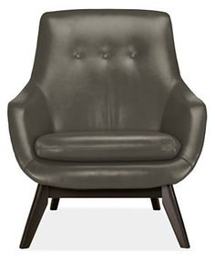 Henrick Leather Chair (=)