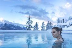 😍 Das NIDUM – Casual Luxury Hotel ist ein Ort, an dem kaum Wünsche offen bleiben.   #leadingsparesorts #leadingspa #wellness #spa #wellnesshotel #wellnessurlaub #nidum #casual #luxury #hotel #seefeld #entspannen #seefeld #luxushotel #tirol #austria #hotel #resort #pool #model #blogger #travel #reisen #bloggerstyle #lifestyle #winter #snow #natur #view #photography #luxushotel Wellness Spa, Felder, Mountains, Winter, Casual, Nature, Travel, Luxury, Viajes