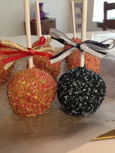 49ers and Raiders inspired Cake Pops