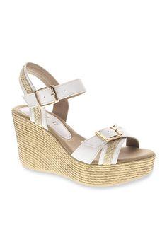 Azura® Frappe Wedge Sandal