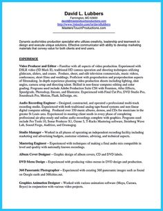 it is important to arrange a representative audio engineer resume in this case you - Audio Engineer Sample Resume