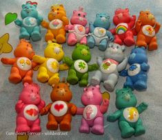 General Information: Poseable bears stand roughly 3 inches tall. They are jointed so you can pose them into different positions. Baby Memories, My Childhood Memories, Best Cousin Quotes, Brother Quotes, Daughter Quotes, Family Quotes, Quotes Quotes, Retro Toys, Vintage Toys