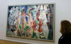 L'exposition de Delaunay (Robert!) est au Centre Pompidou - Evous