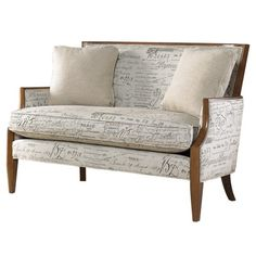 Very similar to our armchairs, but with dark espresso wood