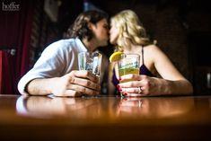 Engagement Pub Photo - Hoffer Photography