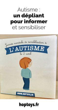 Le 2 avril, c'est la Journée mondiale de sensibilisation à l'autisme. Une journée pour faire reculer les idées reçues et sensibiliser à l'autisme afin de contribuer à construire une société plus respectueuse des forces et des défis de chacun. Que vous soyez parents, professionnels de santé ou professionnels de la petite enfance, nous vous invitons à télécharger gratuitement ce dépliant afin de sensibiliser le plus grand nombre. Avril, Parents, Autism Awareness, Infancy, Infographic, Learning, Tools, World, Psychology