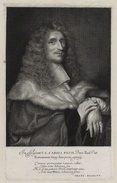 Patin, Charles (1633-1693), engraving by Antoine Masson (1636-1700)