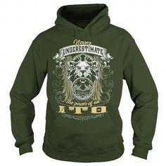 Cool  ITO, ITO T Shirt, ITO Tee T-Shirts
