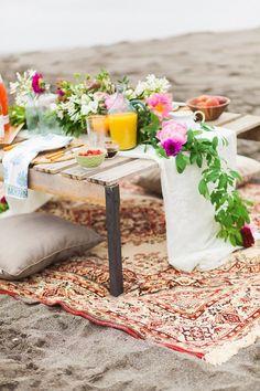 Romantic Beach Elopement Wedding Inspiration | Olivia Leigh Photography | J29 Events Planning & Design