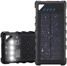 Some solar chargers have USB port which can be used for charging. But, some devices are more power hungry and will require an adapter for fast and effective charging. So, go on and hover the cursor and scroll down the top 10 best solar phone chargers. Solar Powered Phone Charger, Solar Phone Chargers, Solar Charger, Winter Driving Tips, Diy Solar, Survival Gear, Solar Energy, Solar Panels, Usb