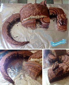 découpage gâteau dragon tutoriel diy cake