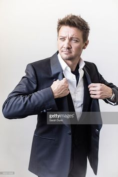Actor Jeremy Renner is photographed on May 31, 2015 in Los Angeles, United States.