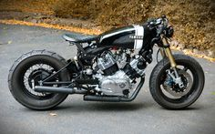 Cool Yamaha XV920 Virago Custom by David Bailey.