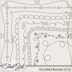 1170 how to draw cute borders