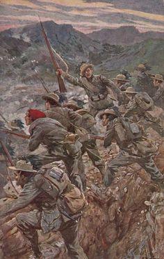 Cartoline MyMilitaria - Pagina n. 3 Military Diorama, Military Art, Italian Empire, Interwar Period, National History, Steampunk, Wwi, Warfare, First World